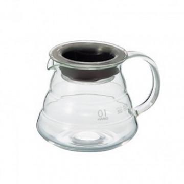 Carafe Hario V60 en verre - 1 à 2 tasses