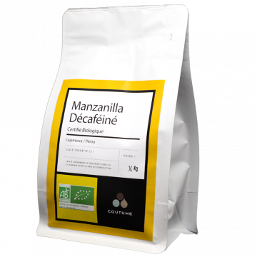 Manzanilla Décaféiné 1kg